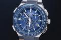 セイコー アストロン SBXB127 GPSソーラー電波時計 クロノグラフ メンズ 8X82 ブルー【正規品・新品】