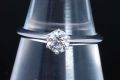 ティファニー ソリティア ダイヤモンド リング PT950 プラチナ ダイヤ 0.31ct【美品】