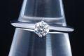 ティファニー ソリティア ダイヤモンド リング PT950 プラチナ ダイヤ 0.24ct H-VS2-VG【鑑定書付・新品同様】