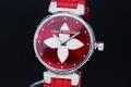 ヴィトン タンブール フォーエバー ポムダムール ダイヤモンド Q121L レディース SS/エピレザー ラグダイヤ パヴェダイヤ文字盤