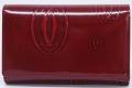 カルティエ ハッピーバースデイ コンパクトウォレット 二つ折財布 ボルドー L3000347
