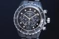 シャネル H2419 J12 ブラック ハイテクセラミック 9Pダイヤモンド クロノグラフ メンズ オートマ【正規品】