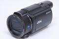 ソニー FDR-AX55 デジタル4Kビデオカメラ ハンディカム ムービー 光学20倍ズーム ブラック SONYアクセサリーキット付き【新品】