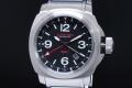ルミテック LUM-TEC MDVテクノロジー GMT メンズ SS クォーツ 300M 黒文字盤 200本限定