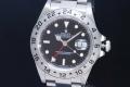 ロレックス エクスプローラー2 16570  黒文字盤 メンズ GMT SS オートマ EX2 K番