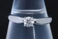 ティファニー ハーモニー ダイヤモンド リング PT950 プラチナ ダイヤ0.24ct I-VVS2-3EX【正規品・ティファニー鑑定書付】