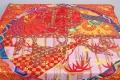 エルメス カレ90 キモノ・エクスリブリス EX-LIBRIS EN KIMONOS スカーフ 和柄 シルク100%【正規・未使用】