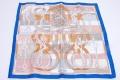 エルメス プチカレ Della Cavalleria スカーフ シルク100%【新品同様】