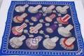 エルメス カレ70 VINTAGE EPAULETTES スカーフ シルク100%【未使用】