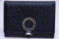 ブルガリ ビジネスカードホルダー ブルガリブリガリ ロゴクリップ 名刺入れ ブラック 30420