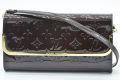 ヴィトン モノグラム ヴェルニ ロスモアMM クラッチバッグ 2WAY ショルダーバッグ アマラント M91591