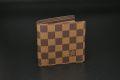 ヴィトン ダミエ ポルトフォイユ マルコ 二つ折り財布 N61675【新品同様】