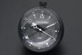 ヴィトン Q1Q000 タンブール オールブラック テーブル クロック GMT 置時計 クォーツ 黒【新品同様・正規品】