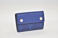 ヴィトン タイガラマ モノグラム ディスカバリー コンパクトウォレット 三つ折り財布 コバルト M67620【新品】
