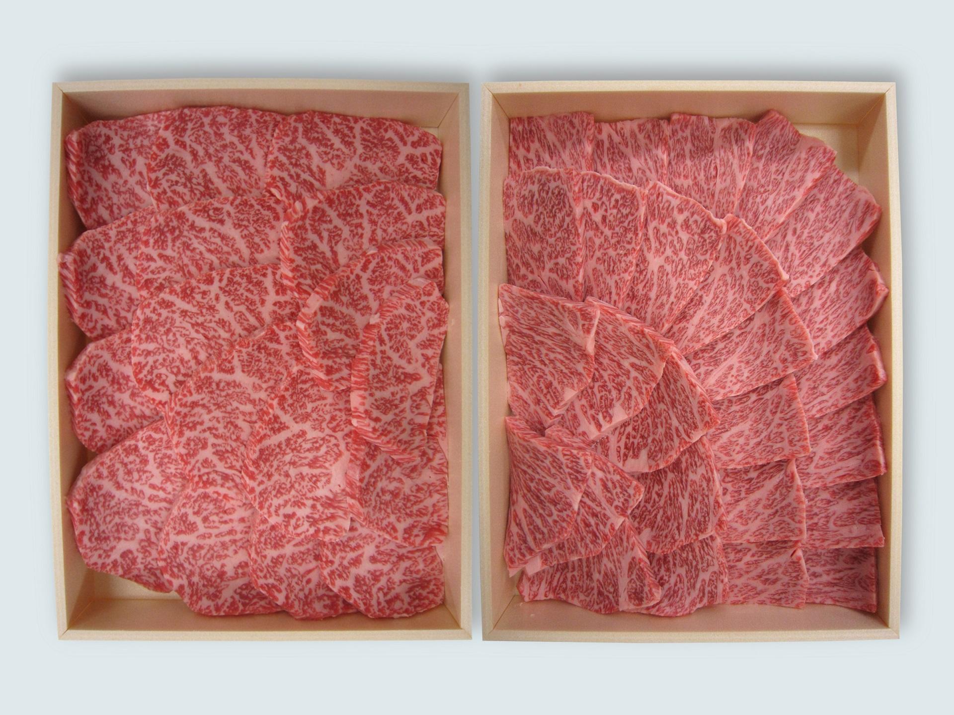 鹿児島黒牛ロース&カルビ焼肉ギフト