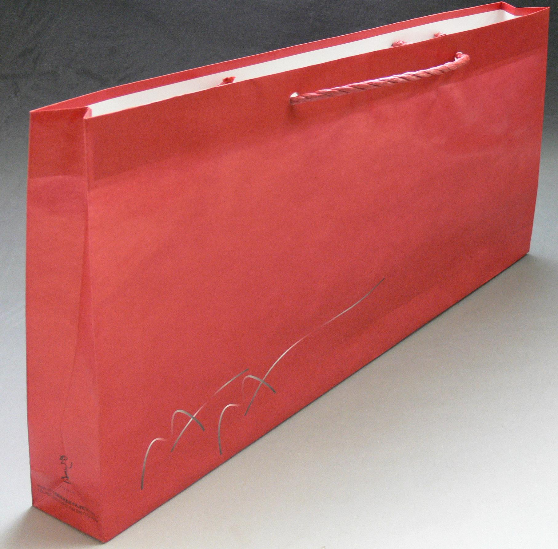 紙袋【赤】