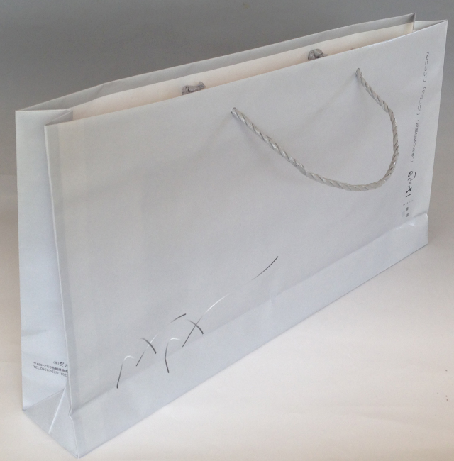 紙袋【グレー】