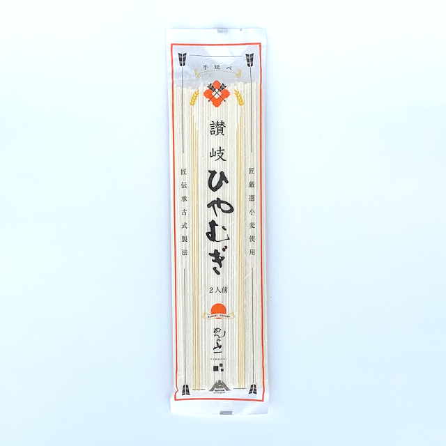 【QHI-200】 讃岐手延べひやむぎ 24cm 2人前