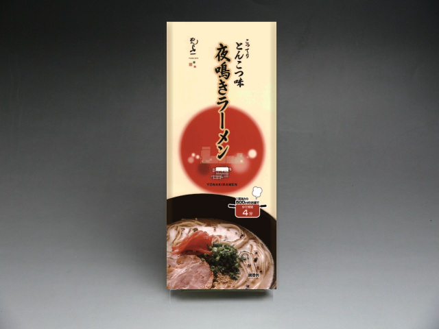 【YT-07】 夜鳴きラーメン とんこつ味 2食入