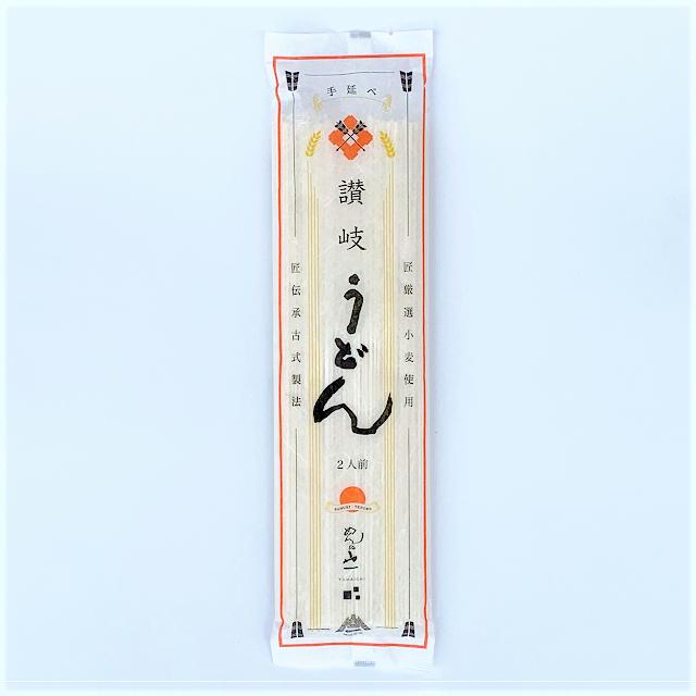 【QUD-200】 讃岐手延べうどん 24cm 2人前