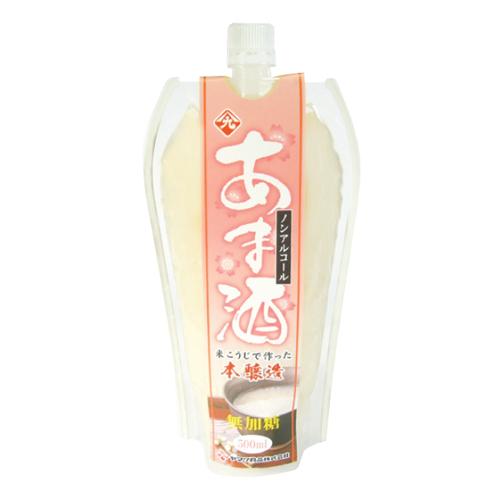 国産米使用無加糖 甘酒ピラーパック 500ml