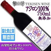 TEKISEN WINE アジロン 無添加 750ml【山梨醗酵工業】