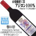 山梨醗酵工業 テキセンワイン アジロン 無添加 750ml