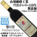 山梨醗酵工業 TEKISEN WINE 無添加 赤 マスカットベリーA 750ml