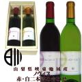日川中央葡萄酒 リエゾンワイン NOVICE(ノヴィス)2017 ベリーA・甲州 二本詰め合わせギフト