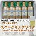モンデ酒造 スリム缶ワイン プティモンテリア 5本詰み合わせギフト(スパークリング5)