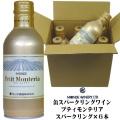 モンデ酒造 スリム缶ワイン プティモンテリア スパークリング 290ml×6本入り