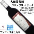 大和葡萄酒 ハギーワイン クヴェヴリベリーA 壷仕込み 750ml 2019