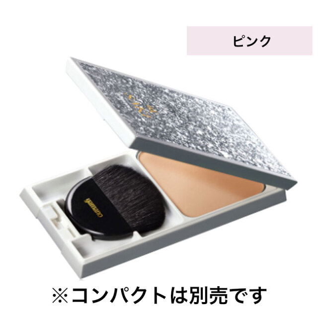 KOHAKU CENTURY 咲 SAKI コハクナノ スキントリートメント メイクアップパウダー レフィル(ブラシ付き) ピンク