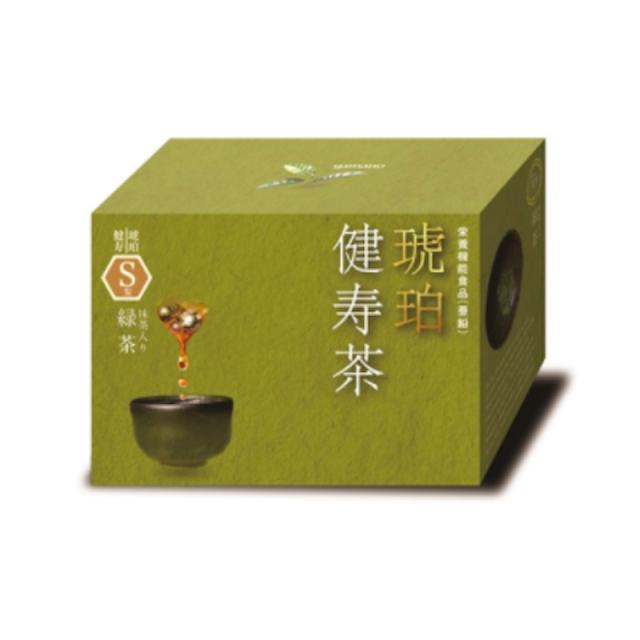 琥珀健寿茶S型 抹茶入り緑茶茶ブレンド