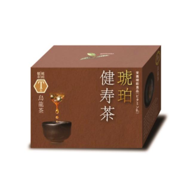 琥珀健寿茶T型 烏龍茶茶ブレンド