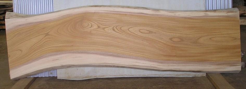看板、テーブルに最適 F-522 ケヤキ板 1710×560×45mm