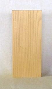 山成林業 縦型表札一枚板 KE-294 ケヤキ板 表札素材に最適