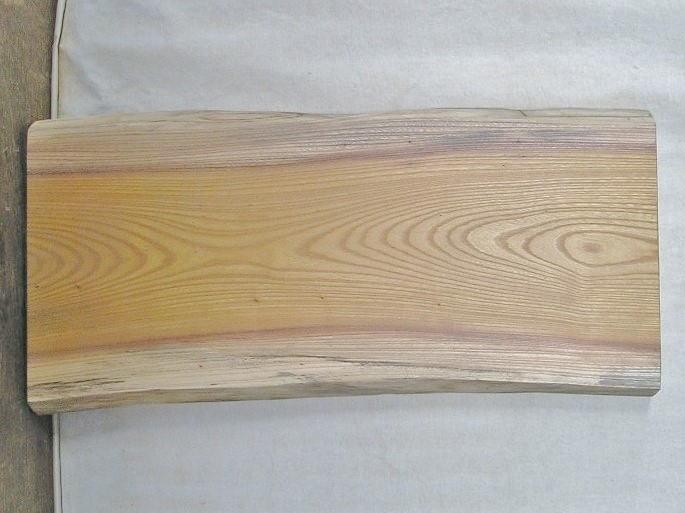 【送料・手数料無料】 山成林業 特小無垢一枚板 KE-355 ケヤキ看板に最適