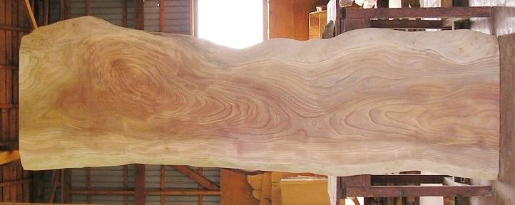 【送料・手数料無料】特大無垢一枚板 KA-372 ケヤキ 特大看板・ダイニングテーブル・看板に最適
