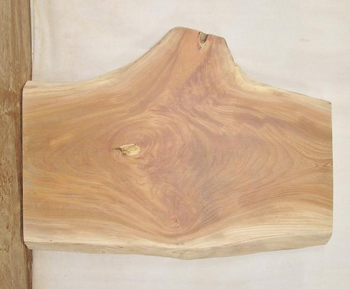 【送料・手数料無料】 山成林業 中型無垢一枚板 KC-406 ケヤキ テーブル・看板に最適