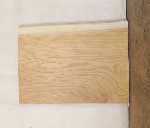 【送料・手数料無料】 山成林業 3辺カット小型無垢一枚板 KD-453 ケヤキ 小型看板に最適