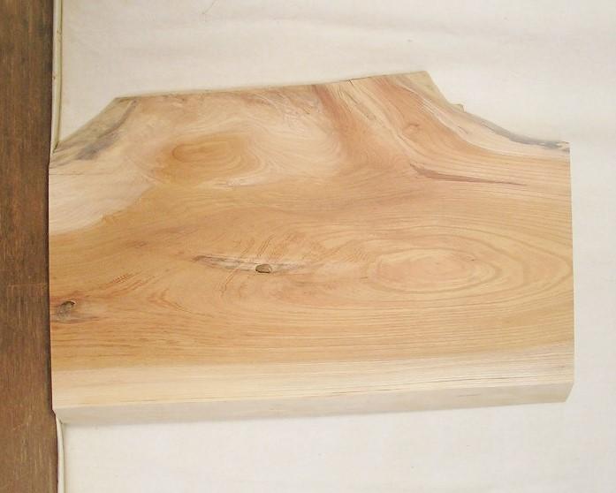 【送料・手数料無料】 山成林業 訳あり特価一枚板 KD-506 ケヤキ 小型看板に最適
