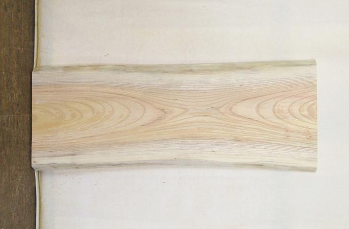 【送料・手数料無料】 山成林業 小型無垢一枚板 KD-518 ケヤキ 小型看板に最適