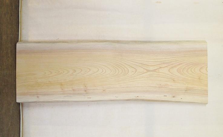 【送料・手数料無料】 山成林業 訳あり特価一枚板 KD-519 ケヤキ 小型看板に最適