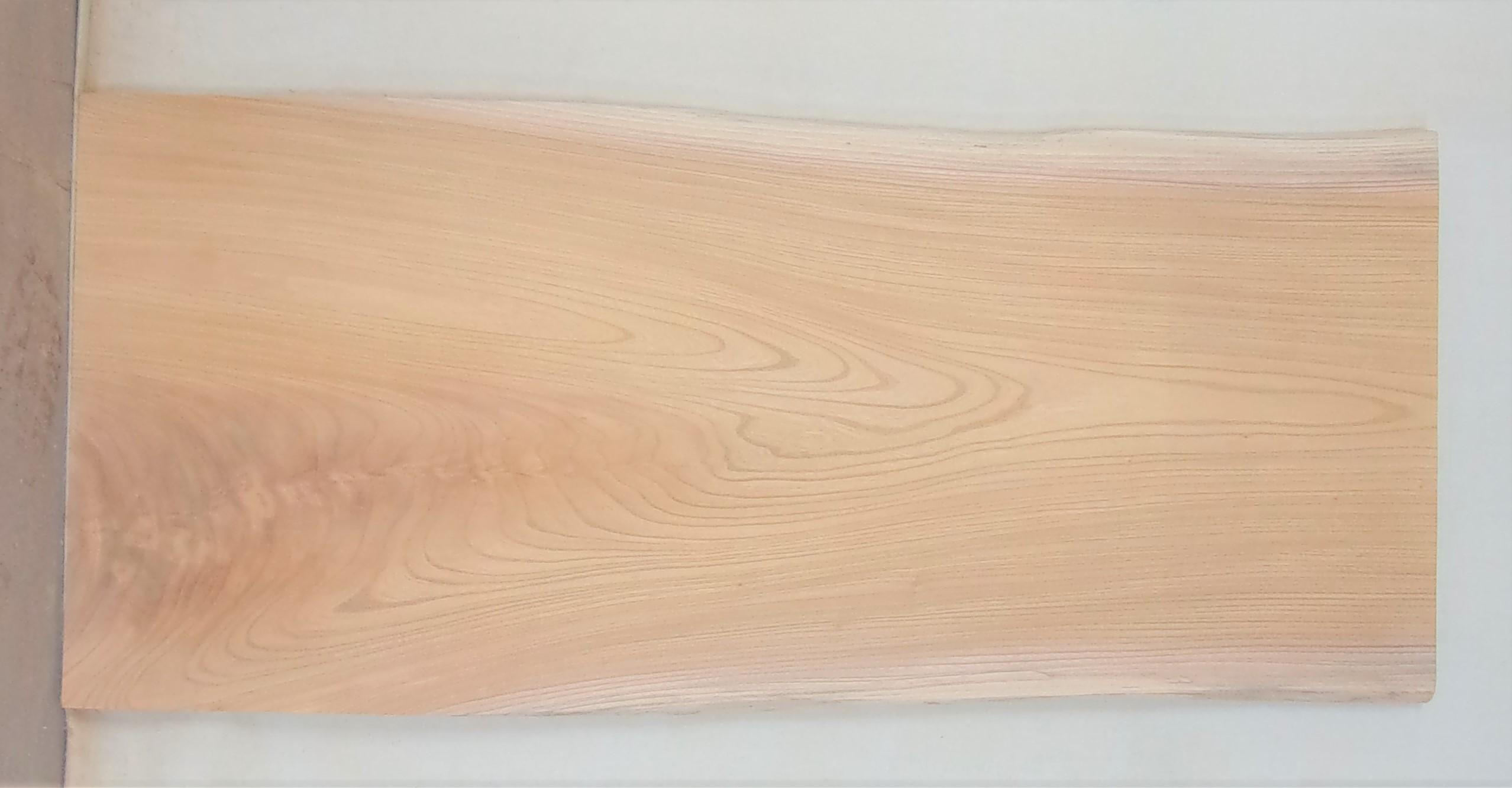 【送料・手数料無料】 山成林業 小型無垢一枚板 KD-573 ケヤキ 小型看板に最適