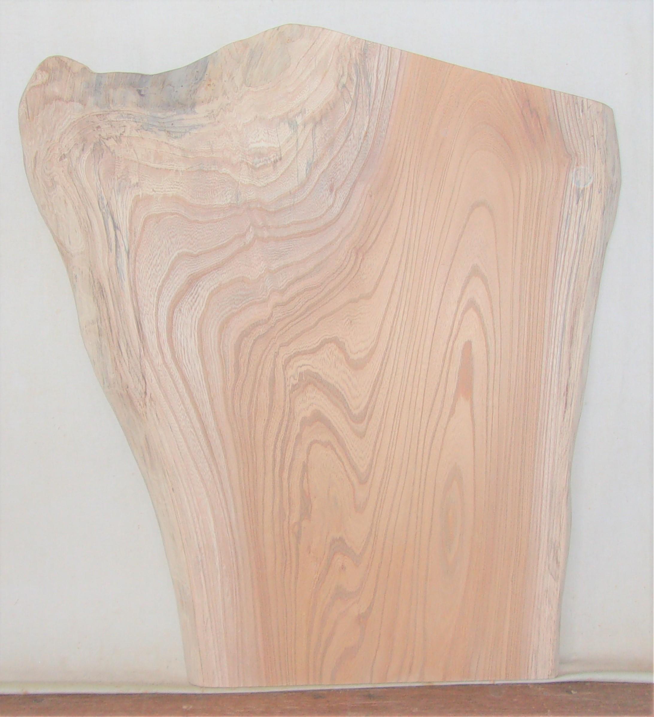 【送料・手数料無料】 山成林業 小型無垢一枚板 KD-588 ケヤキ 小型看板に最適