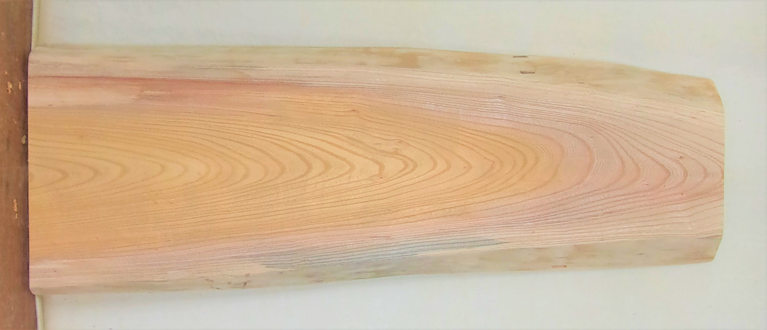 【送料・手数料無料】 山成林業 小型無垢一枚板 KD-596 ケヤキ 小型看板に最適