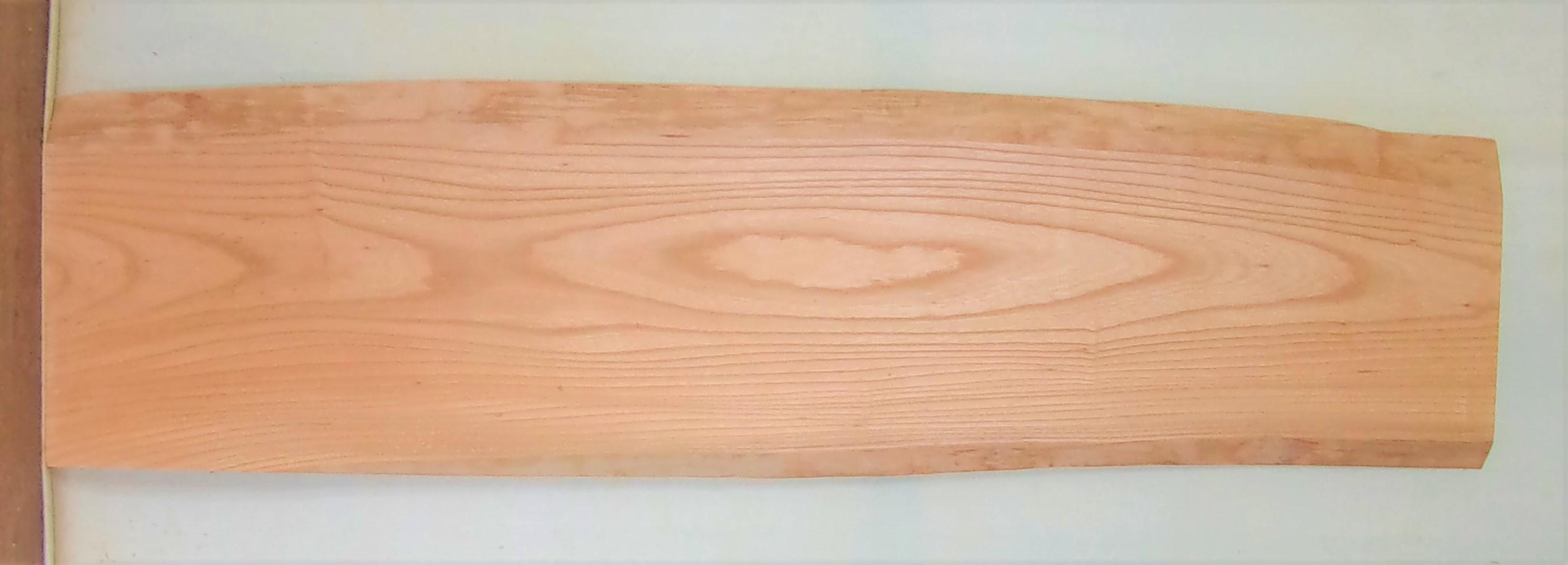 【送料・手数料無料】 山成林業 中型無垢一枚板 KC-610 ケヤキ 中型看板に最適