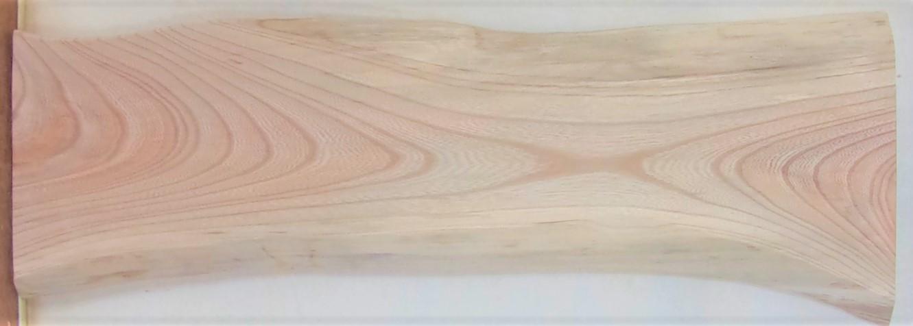 【送料・手数料無料】 山成林業 小無垢一枚板 KD-630 ケヤキ看板に最適