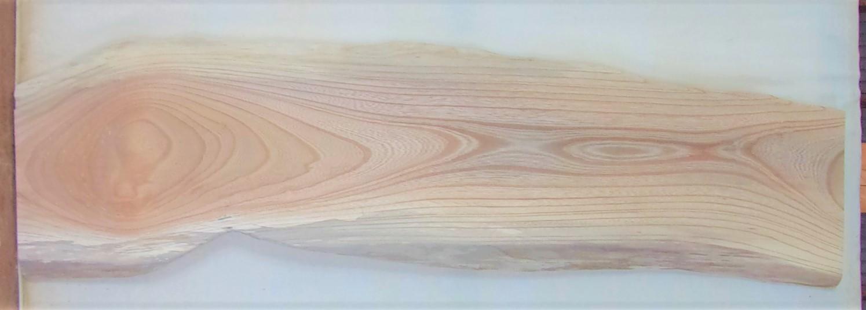 【送料・手数料無料】 山成林業 中型無垢一枚板 KC-638 ケヤキ 中型看板に最適
